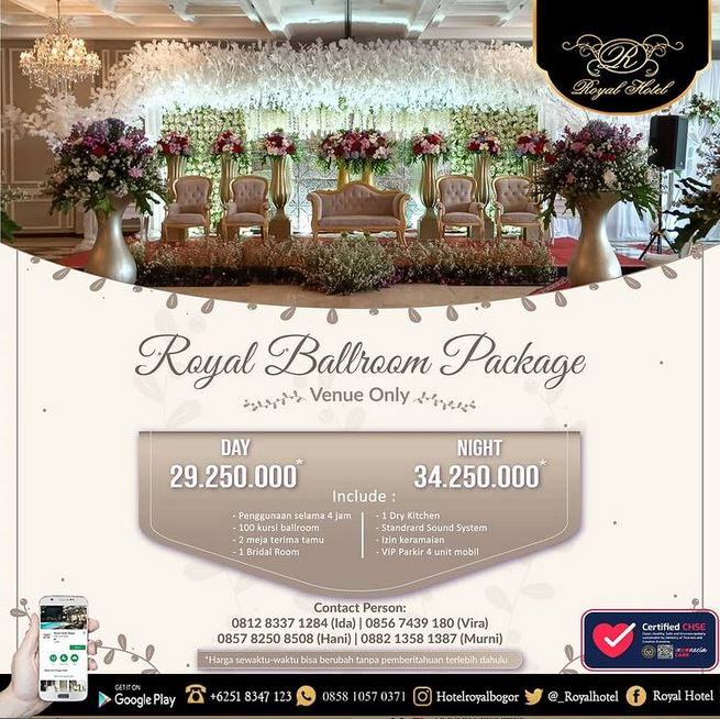 Royal Ballroom Package